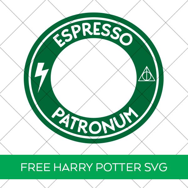 Free Harry Potter Espresso Patronum SVG