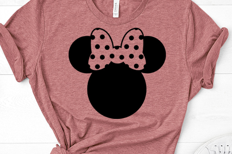 Disney's minnie mouse svg free, minnie mouse head svg, free svg cutting files, minnie bow svg, cricut, silhouette, disney svg, eps, dxf