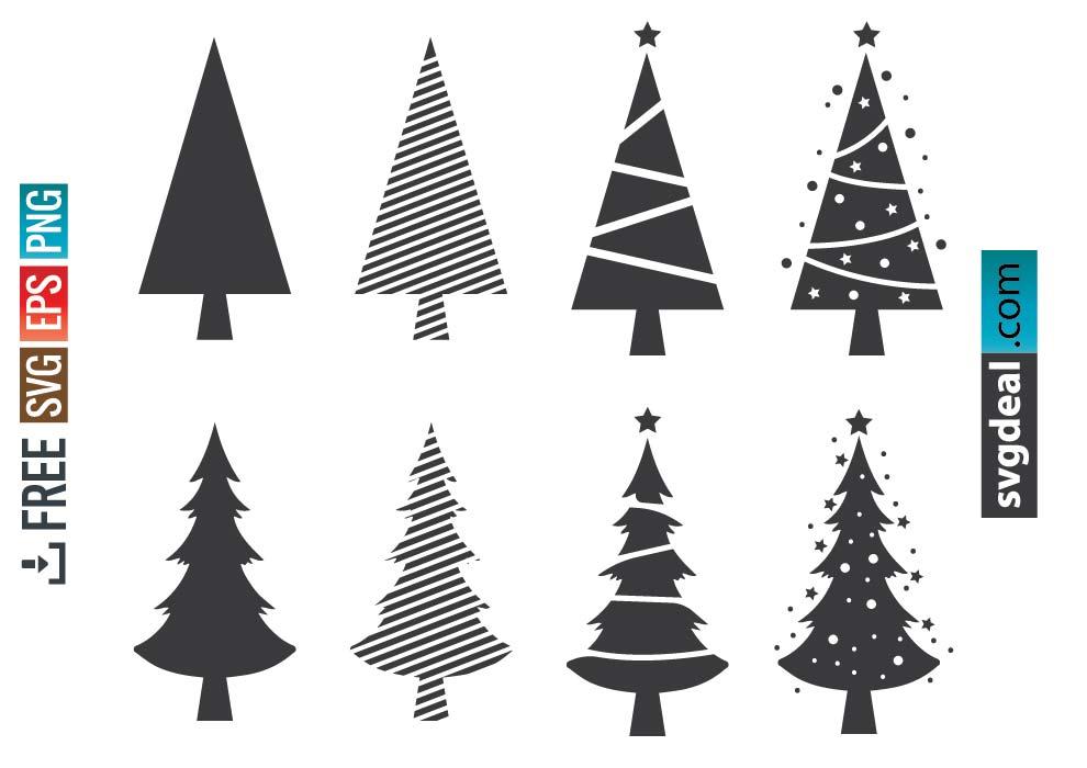 Christmas Tree SVG Free
