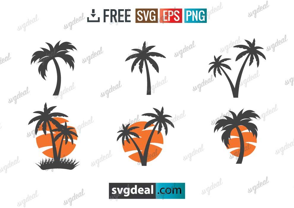 Palm Tree SVG Free Download
