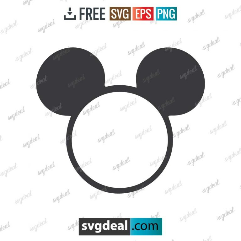 Mickey Mouse svg, Mickey svg, Disney, Disney svg, silhouette, digital download, free vector files, free cut file, cutting files