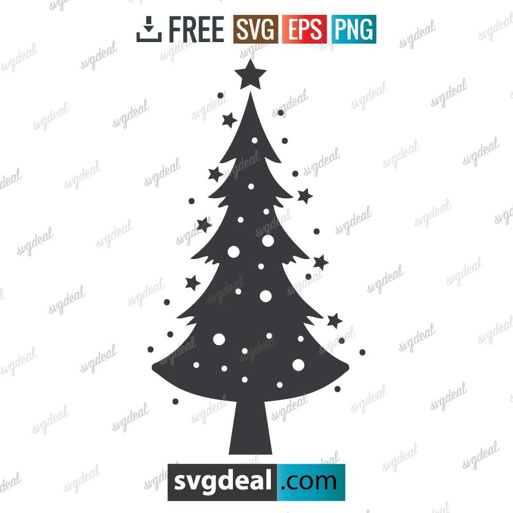 Christmas Tree Svg, Christmas svg, christmas tree SVG cut file, Tree Christmas Svg