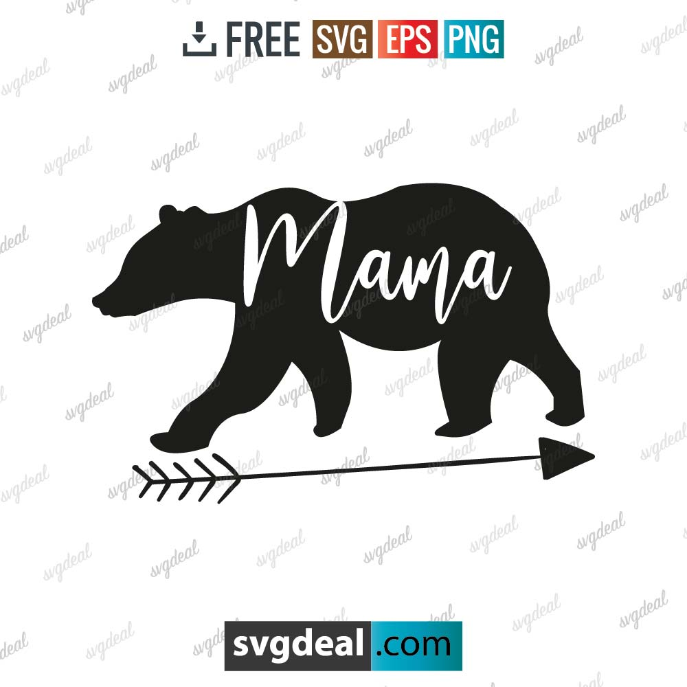 Mama Bear SVG, Mommy SVG, Mom To Be svg, Mom Shirt Design, Bear Mama svg, Mom svg Sayings, Mothers Day svg – 8901