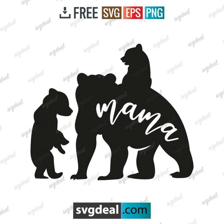 Mama Bear SVG, Mommy SVG, Mom To Be svg