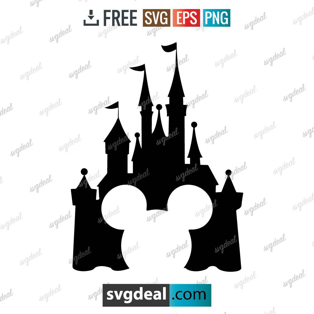 Disney Castle SVG Free Download