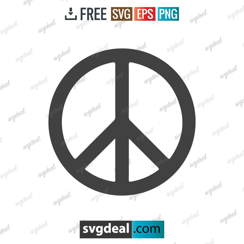 Peace Sign SVG Files
