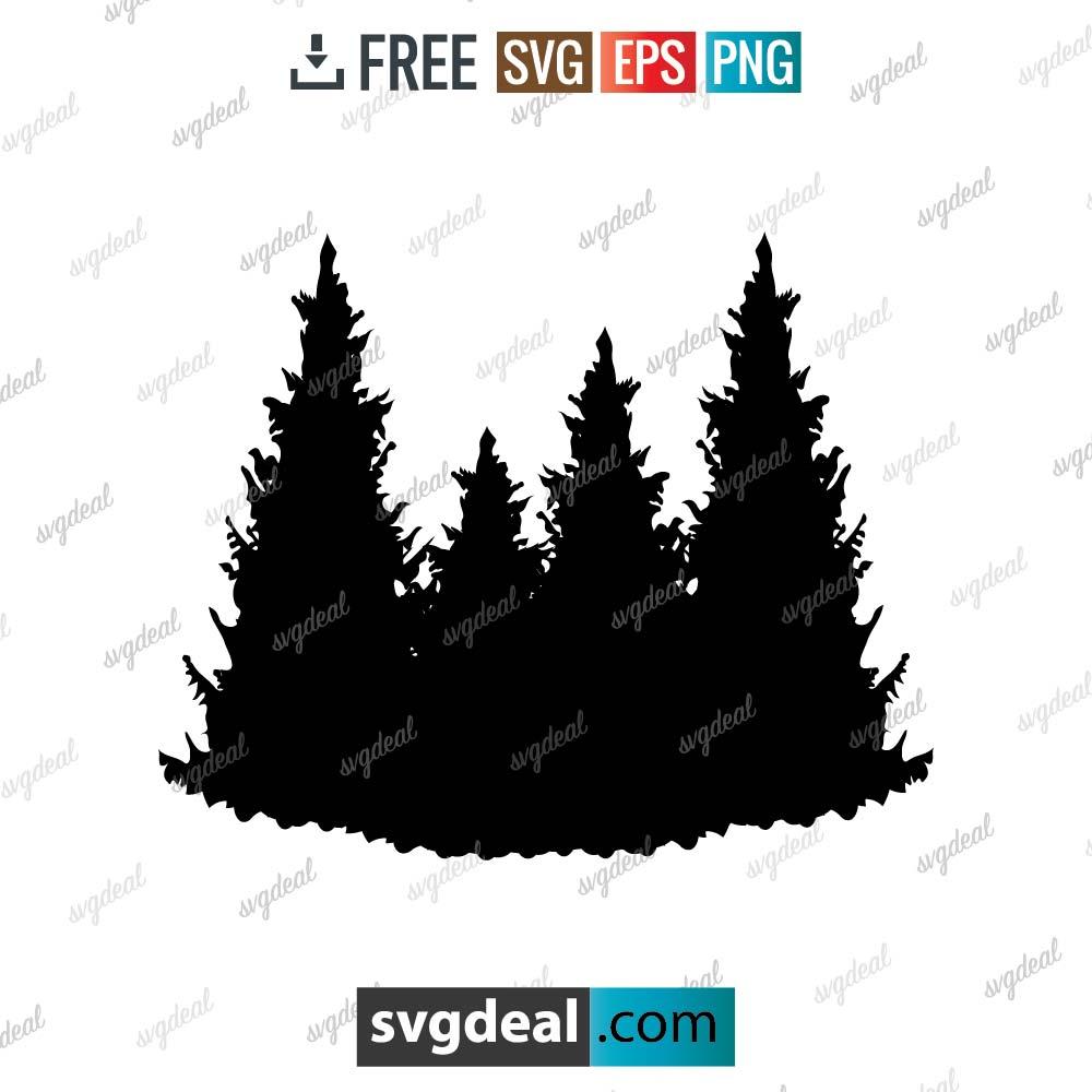 Pine Tree SVG Files Free Download