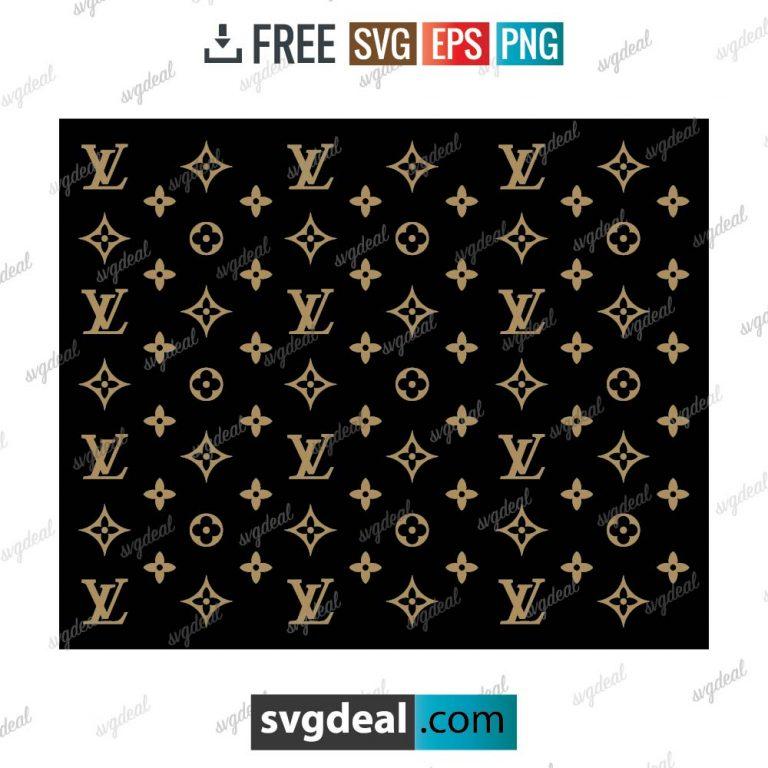 louis vuitton pattern svg free