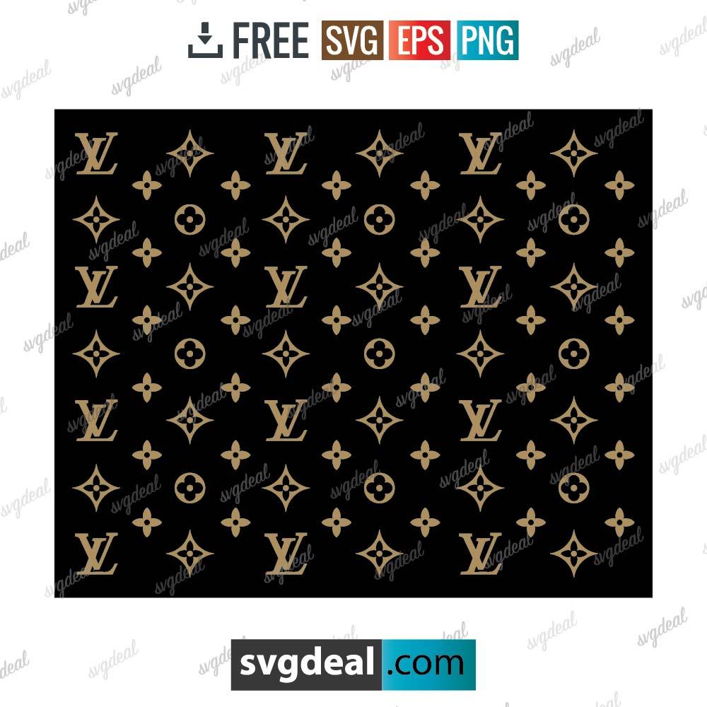 Louis Vuitton pattern svg free download, louis vuitton for cricut – 1606