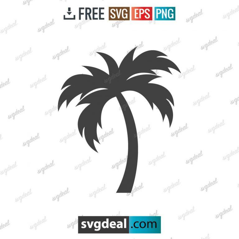 Palm Tree SVG Free
