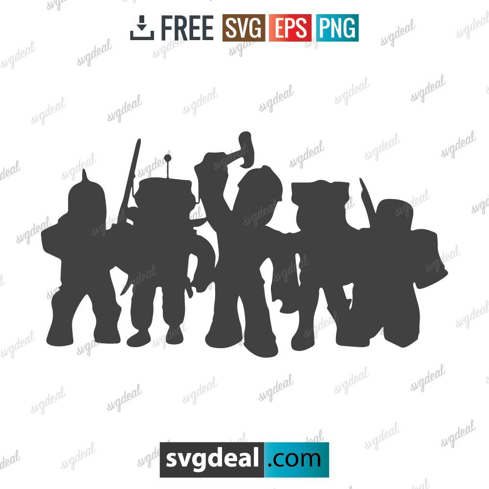Roblox Character SVG Free, Roblox Printable Files – 2203