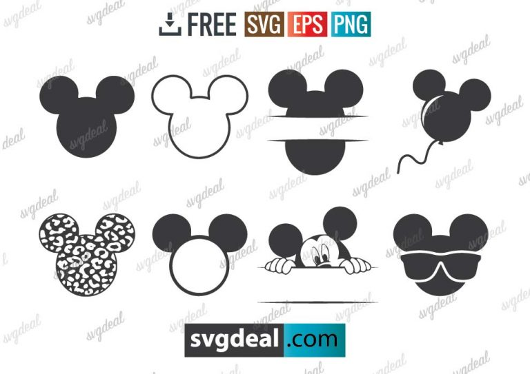 Mickey mouse svg files