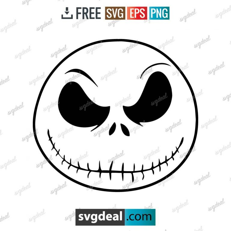 Jack Skellington SVG Files Free Download